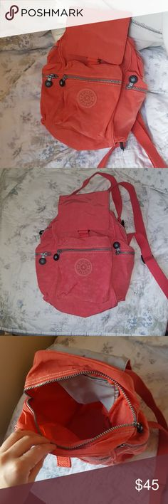 Kipling Small Backpack Like new  No signs of wear Has zipper closures Kipling Bags Backpacks