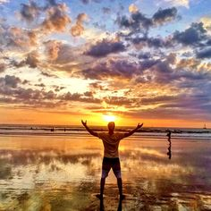 In Playa Tamarindo, you'll get a sense of enlightenment. Not to mention, a breathtaking sunset.