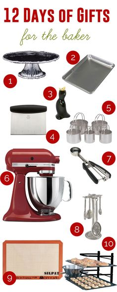 12 Days of Gifts :: for the baker - Living   Add a Pinch   Robyn Stone #12daysofgifts #addapinch