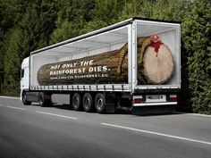 amazing art with a sad message (save rainforest) Photo Humour, Save Our Earth, Funny Commercials, Funny Ads, Funny Pranks, Funny Jokes, Commercial Ads, Guerilla Marketing, Street Marketing