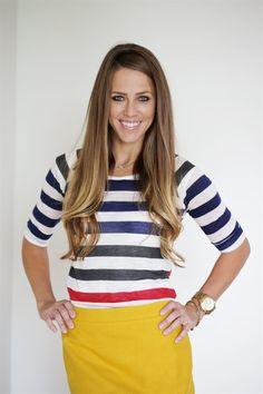 3/4 Length Stripe Tops!   Jane