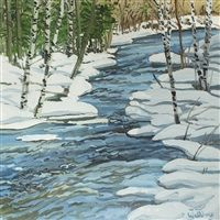 Duck Pond Trap by Neil Welliver