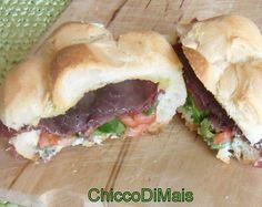 panino con bresaola e tzatziki (di chiccodimais)