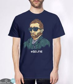 """""""Van Gogh: Master of the Selfie"""" Funny T-Shirt 