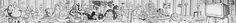 Character Jam Mural 2016 by The Too Much Fun Club (the TMFC) with Edinburgh Palette @ St. Margaret's House. Artists: Kevin Allen, Ross Blair, Tommy Dutch, Elph, Shona Hardie, Miss U Kam-Ling, Glen Leslie, Jamie MacKay, Ross MacRae, Manon Majani, Conor McAllister, Tatch Oi, Duncan Passmore, Tex'book Tam.