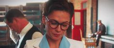 """"""" Steve Rogers and Peggy Carter + glasses """""""