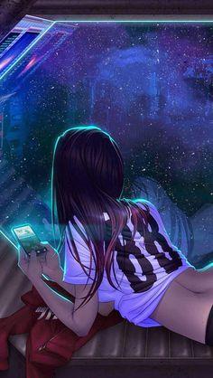 futuristic girl, shadowrun art things animasjon, cyberpunk og a Anime Art, Drawings, Fantasy Art, Art Girl, Art, Anime Characters, Anime Drawings, Digital Art Girl, Beautiful Art