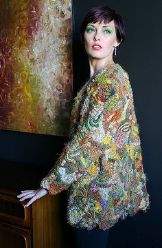 another view of one of my jackets, repinned from Marina Molchan's pinterest page