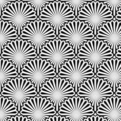 Cool Editable Seamless Patterns for Backgrounds and Wallpapers Geometric Pattern Design, Geometric Designs, Pattern Art, Geometric Shapes, Pattern Designs, Foil Stamped Wedding Invitations, Graffiti Drawing, Design Basics, Illusion Art