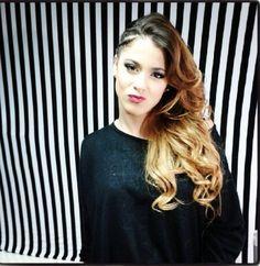 Black & White Stripes On The Background▪️▫️ Violetta Disney, Violetta Live, Nina Dobrev, Celebrity Couples, Celebrity News, Luke Benward, Disney Channel Stars, Disney Stars, Teen Actresses