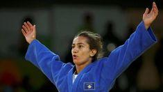 Maljinda Kelmendi won in Judo Olympics 2016 Taekwondo, Rugby 7, Olympia, Z New, Judo, Sports And Politics, Martial Arts, Japan, People