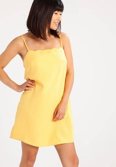440278ae6f56b PRESTON - Sukienka letnia - yellow. Materiał:100% poliester