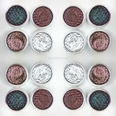 """""""Colourpop Quad of the day! Colours are clockwise - BAE, CRICKET, SO QUICHE, LIBERTY.  Photos were taken in sunlight with a flash on @colourpopcosmetics…"""""""