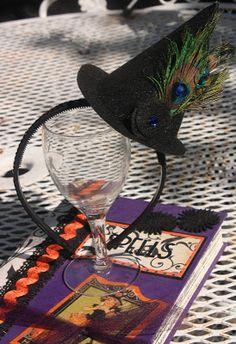 Christy: Witch Hat Headband
