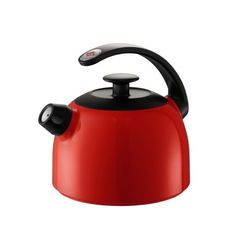 Make a style statement in your kitchen with this fabulous Wesco whistling kettle, which comes in 5 traditional colours #wesco
