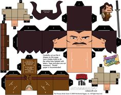 Construye tu propio Íñigo Montoya Jo en vull un, molt fan!