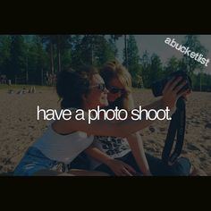 have a photo shoot