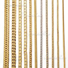 US $4.89 New without tags in Jewelry & Watches, Fashion Jewelry, Necklaces & Pendants Mens Diamond Necklace, Mens Gold Chain Necklace, Mens Gold Bracelets, Mens Gold Jewelry, Men Necklace, Gold Jewellery, Diamond Chains For Men, Black Diamond Chain, Gold Chains For Men