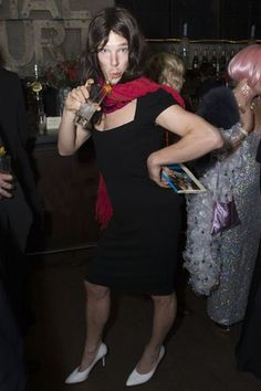 """Benedict Cumberbatch in drag. I don't think even """"wat"""" covers my feelings on this picture. Because serious what"""