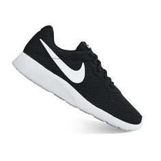 buy online ac166 da87d Nike Tanjun Womens Athletic Shoes, Size 6 Wide, Black