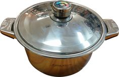 Maxcook 8.4 Quart High-duty 18/10 Stainless Steel Casserole with Lid Bakelite *** Wow! I love this. Check it out now! : bakeware