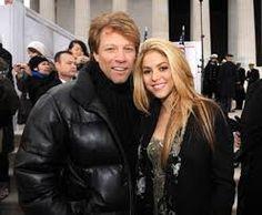 Jon Bon Jovi and Shakira