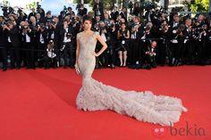 Eva Longoria en la apertura del Festival de Cannes 2012