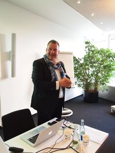 Vor dem Speed Dating: Andreas Brückner, Managing Director, MRM//McCANN