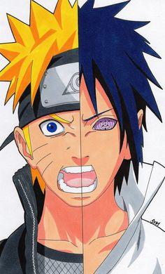 Eternal Rivals - Naruto And Sasuke by SakakiTheMastermind on DeviantArt