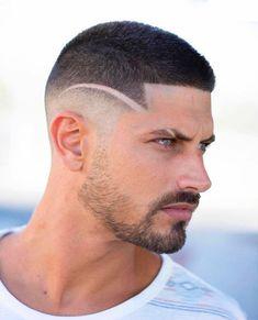 Short Fade Haircut, Short Hair Undercut, Undercut Men, Undercut Hairstyles, Curly Hair Cuts, Short Hair Cuts, Short Hair Styles, Cool Hairstyles For Men, Haircuts For Men