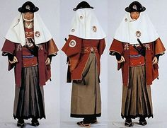 Samurai fire costume (kaji shozoku). All Japanese, Japanese History, Asian History, Traditional Japanese, New Man Clothing, Clothing And Textile, Fire Costume, Samurai Warrior, Period Costumes