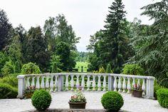 Französischer Park in Volcji Potok, Slowenien  ... #ifeelslovenia #volcjipotok #park #garten #twoslo