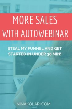 Clickfunnels Automated Webinar – Steal My Exact Funnel. Webinar is one of the most effective sales tool for services and online courses.  Set up your autowebinar nder 30 minutes by stealing my funnel.  #clickfunnels #webinar #autowebinar