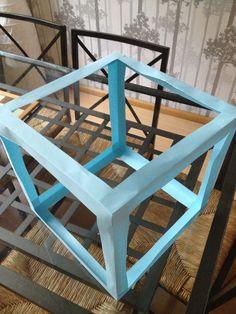 Het maken van een kubus van papier STAP 6