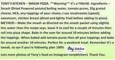 Smash pizza