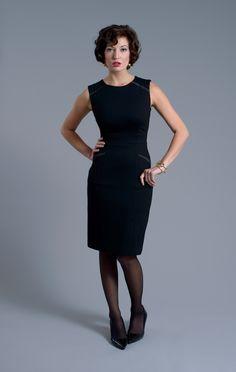 LM StyleBar Lacey Ponti Knit Classic Dress