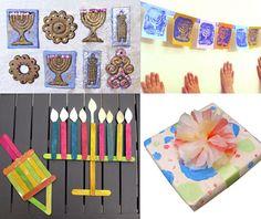 Chanukah Roundup 3 from Creative Jewish Mom Hannukah, Hanukkah Crafts, Hanukkah Decorations, Christmas Hanukkah, Holiday Crafts, Xmas, Craft Stick Projects, Craft Stick Crafts, Crafts To Make