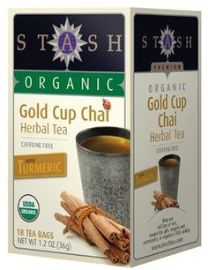 Stash Organic Gold Cup Chai With Turmeric  $3.99 - from Well.ca