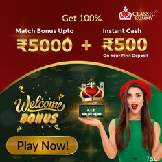 Rummy Online, Instant Cash, Promotion, The 100, Join, Calm, Classic, Classical Music