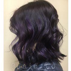 Dark Purple hair IG @Jaid_Co