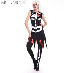 Save for Christmas and Black Friday - Must buy MOONIGHT Skull Zo... Link: http://www.alternatwist.com/products/moonight-skull-zombies-ghost-bride-costume-for-women-adult-halloween-cosplay-fancy-dress?utm_campaign=social_autopilot&utm_source=pin&utm_medium=pin