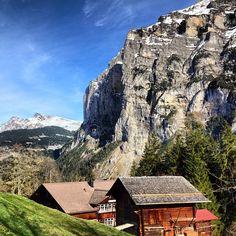 Gimmelwald, Switzerland.