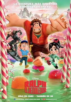 Movie Poster Inspiration: Wreck-It Ralph
