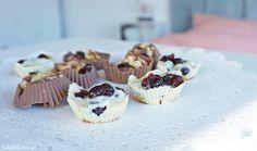 Przepis na domowe czekoladki z orzechami i żurawiną