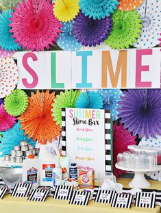 Add some flair to your fiesta with these bright paper fans! They're perfect party decorations for Cinco de Mayo parties, luaus, birthday parties, weddings . Sleepover Birthday Parties, Girls Birthday Party Themes, Kids Party Themes, Art Birthday, Summer Birthday, Birthday Party Decorations, Birthday Ideas, Kids Bday Party Ideas, Art Party Activities
