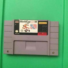 Used. Game only. Cartridge may have writing / stickers and or residue on it from the stickers. Not tested by me. Game Time. I'll be putting a lot of games up. So check out my other posts. I will be listing them by type. Follow me to check the new stuff as they appear. Shipping time, I put 4-7 days for processing because these are hard to get to and stacked in boxes. I have limited space to move around and stack the boxes to get to the game I am looking for. I will try and ship as fast as I can. Soccer Video Games, Hard To Get, World Cup, Boxes, Ship, Stickers, Writing, Type, Usa