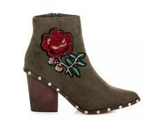 Zelené členkové topánky Dorota