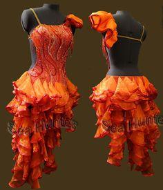 Snap ballroom women salsa rumba swing Latin samba dance dress Tailor made Ballroom Costumes, Dance Costumes, Salsa Costumes, Latin Ballroom Dresses, Latin Dresses, Ballroom Dancing, Lambada, Samba Dance, Baile Latino