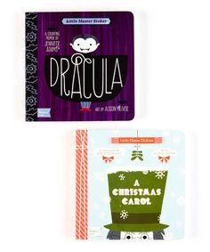 Love this Christmas Carol & Dracula Board Book Set on #zulily! #zulilyfinds