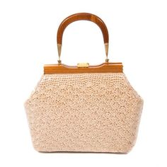 Buy Vintage 1950s Raffia and Vinyl Beige Top Handle Bag £95.00, Second Hand & Vintage  Top Handle Bags for Sale, 100% Authenticity Guaranteed, Worldwide Shipping
